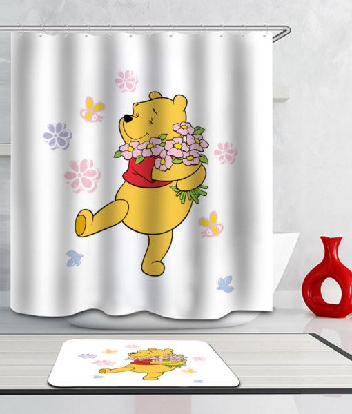 Apporter du bonheur aux enfants avec des rideaux à motif winnie l ...